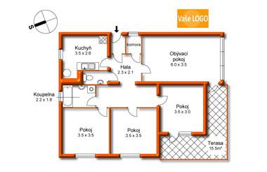 Jak nakreslit půdorys bytu